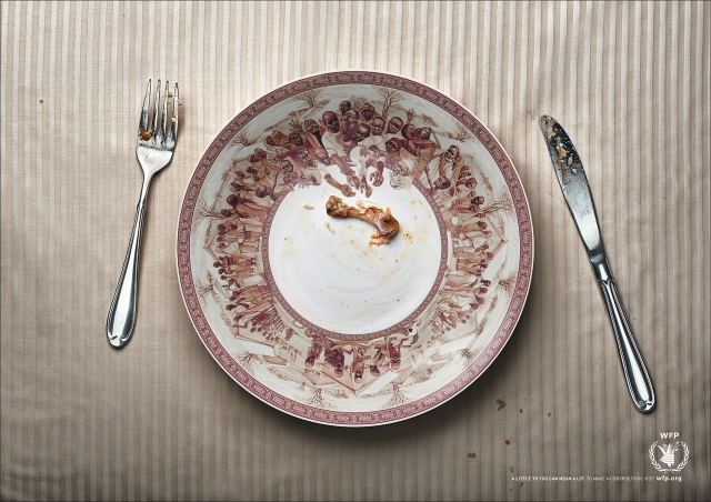 United Nations World Food Programme: Hunger Plate 1