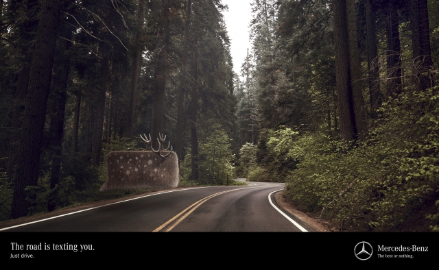 Mercedes-Benz: Deer 1