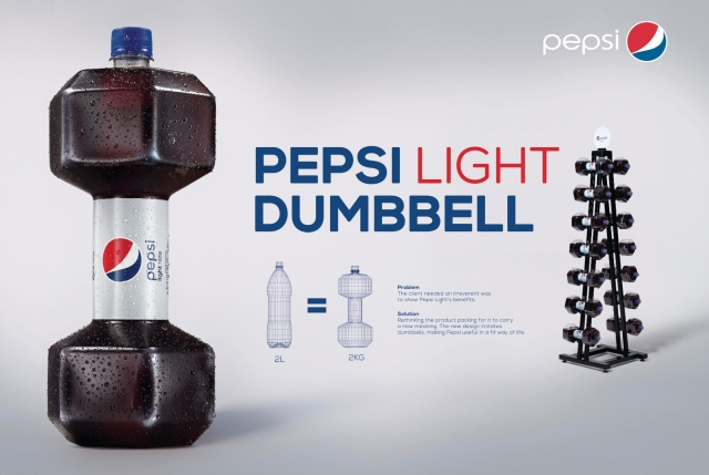 Pepsi: Light Dumbbell 2