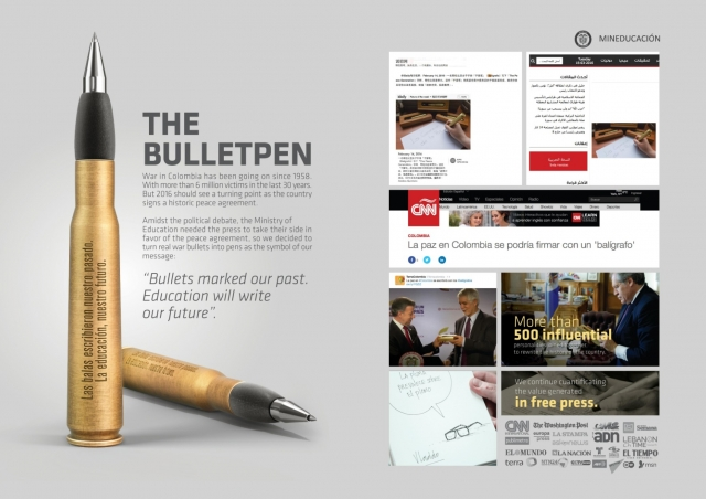 Ministry of National Education Colombia: The Bulletpen 2