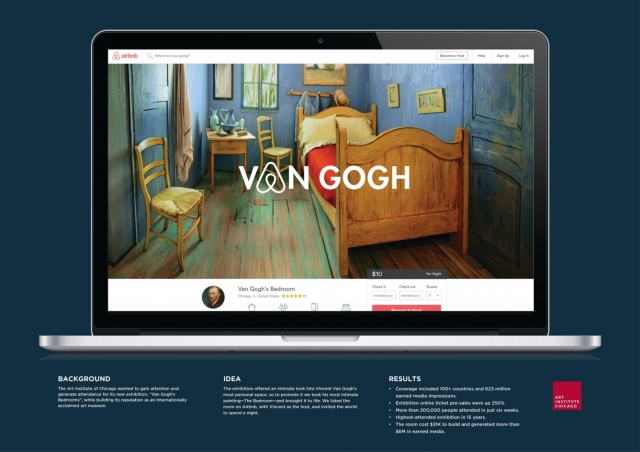 The Art Institute of Chicago: Van Gogh BnB 2