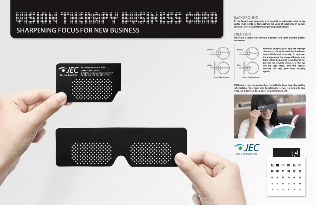 Jakarta Eye Centre: Vision Therapy Business Card 1
