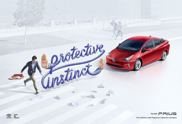 Toyota Prius with Safety Sense: Breathing Room, Papers, Cell Phone 2