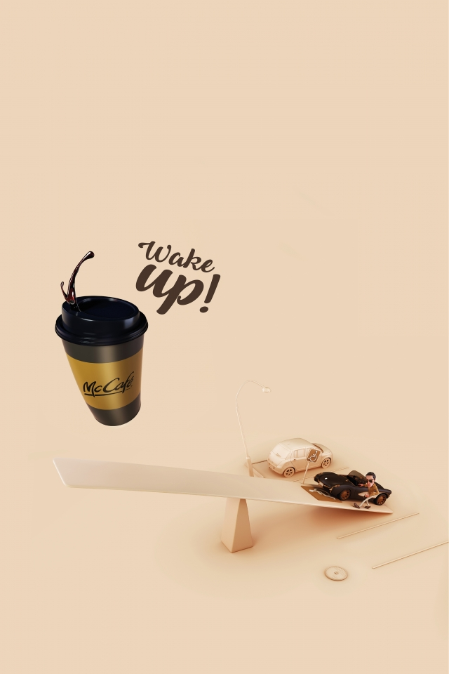 McDonald's McCafe: Wake Up 4