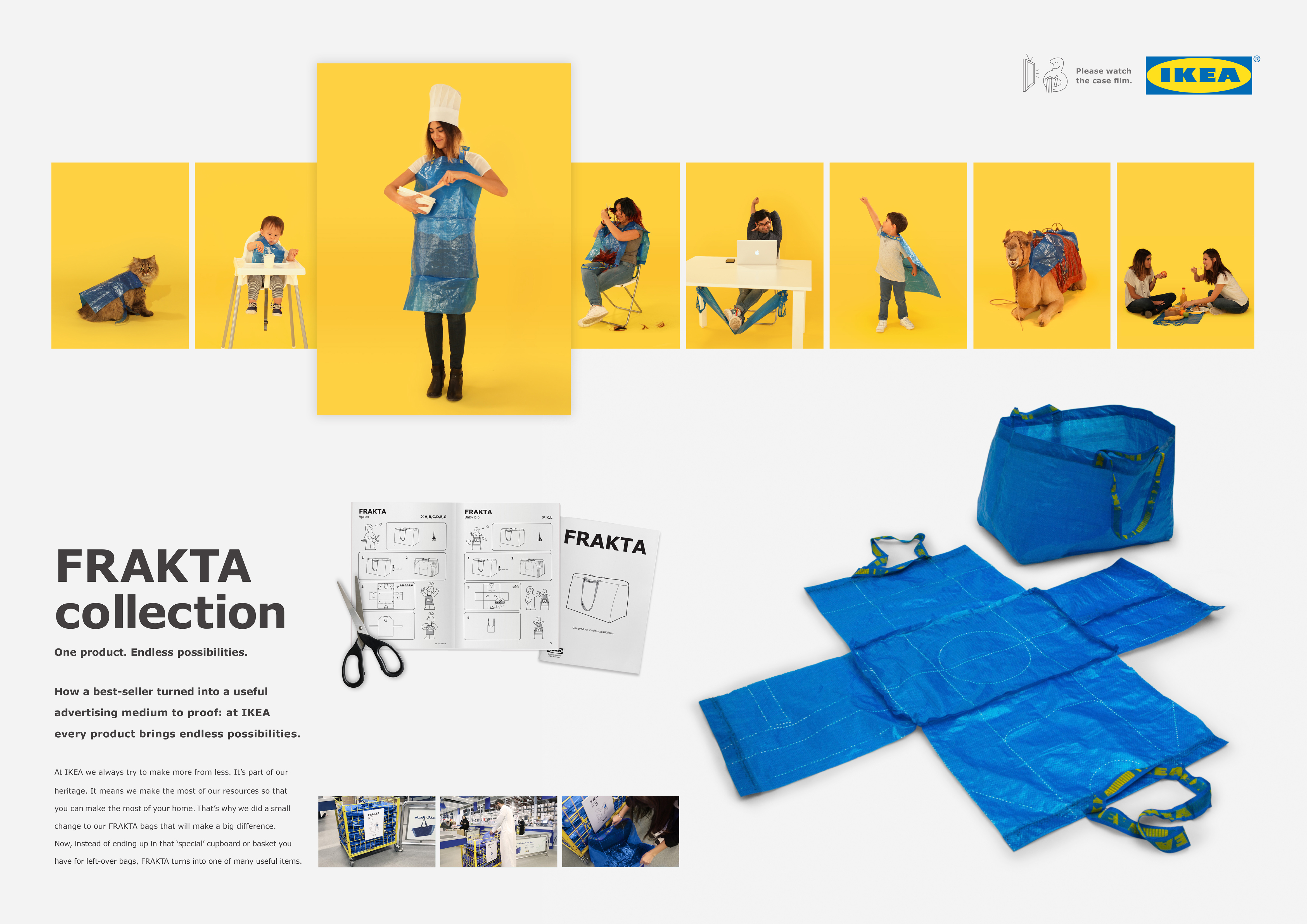 Ikea frakta collection adeevee for Direct from the designers