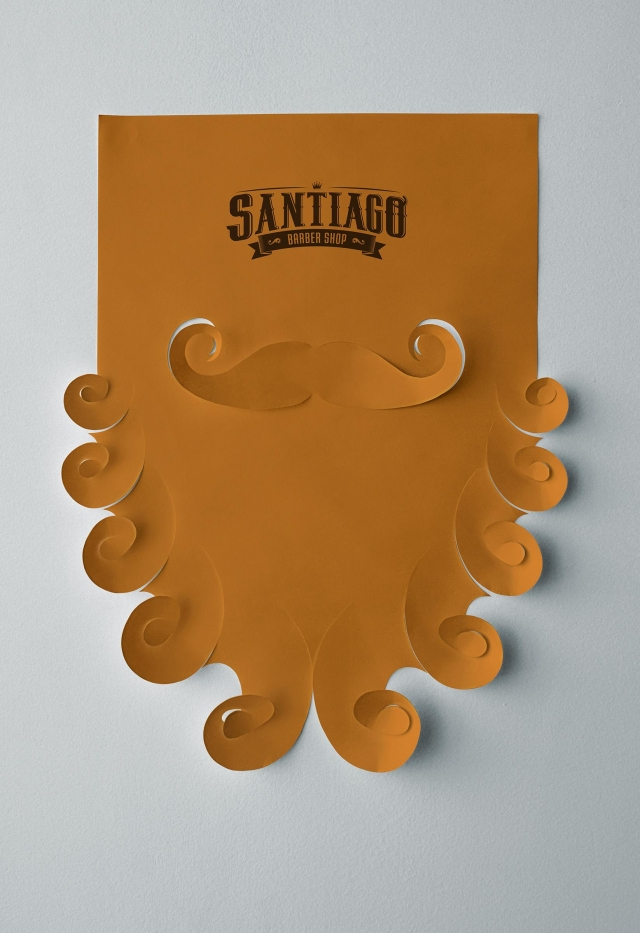Santiago Barber Shop: Beard Poster 2