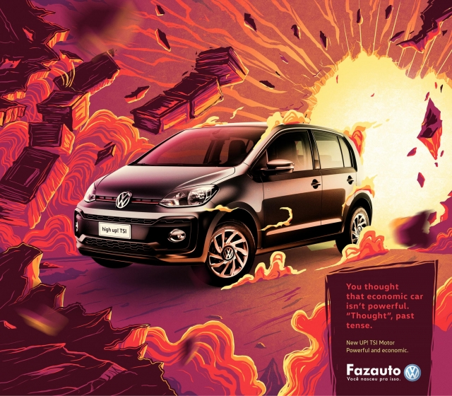 Volkswagen UP: Powerful and economic 3