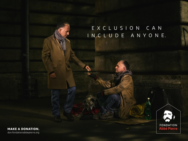 Fondation Abbé Pierre: Exclusion can include anyone 3