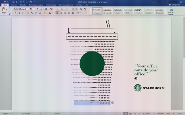 Starbucks: Your office outside your office 2