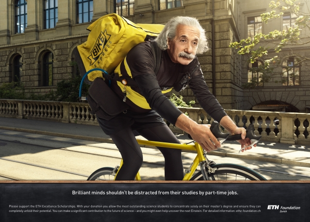 ETH Zurich Foundation: Waiter, Bicycle Courier, Pizza Delivery Man 2