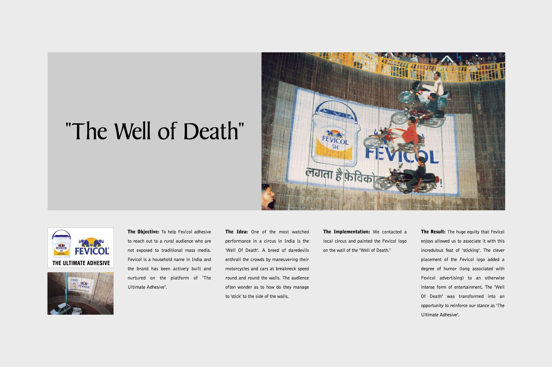 Adeevee Only Selected Creativity Pidilite Industries Fevicol Adhesive Wall Of Death