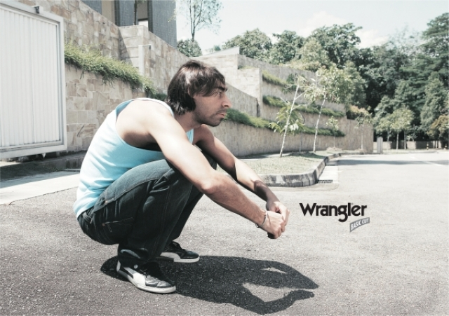 Adeevee | Only selected creativity - One Cube Wrangler Clothing ...