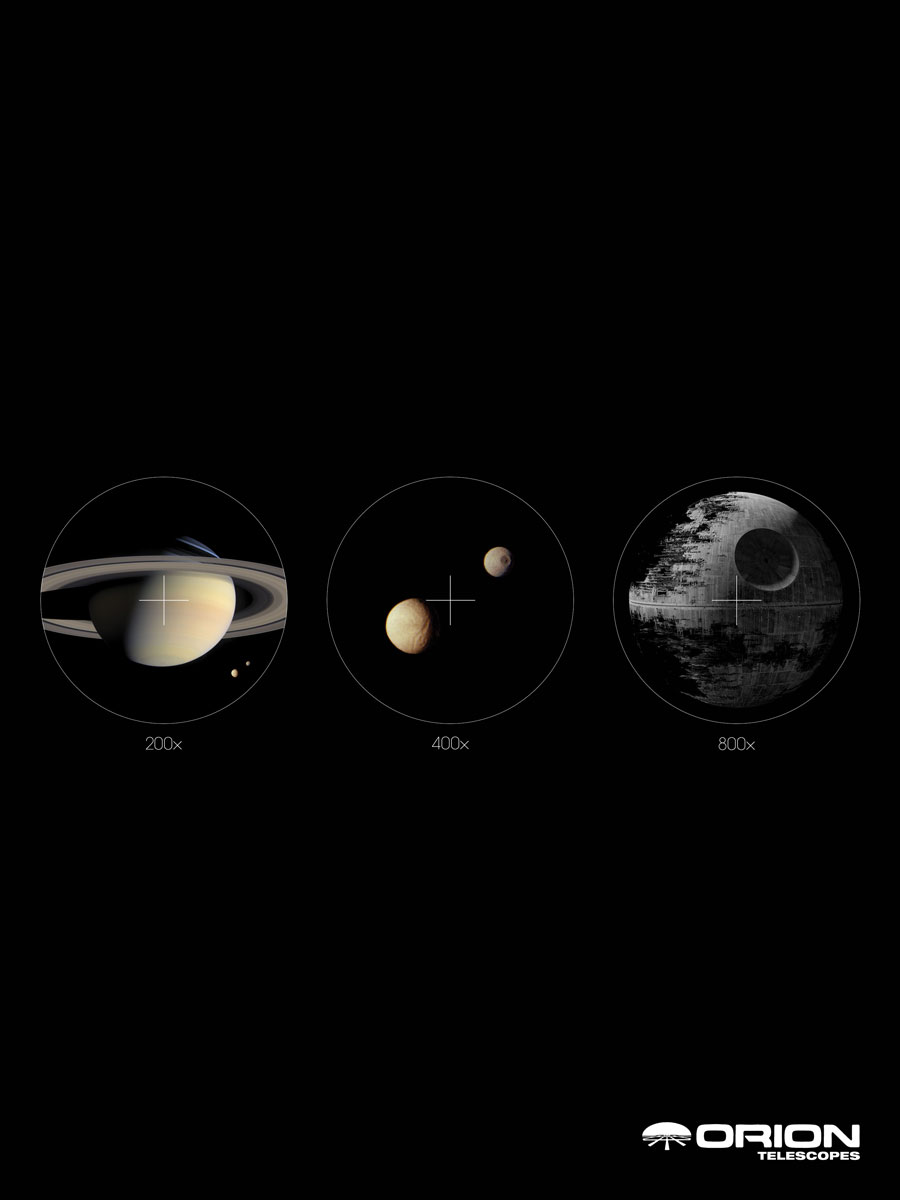 Adeevee | Only selected creativity - Orion Telescopes: Saturn, Mars
