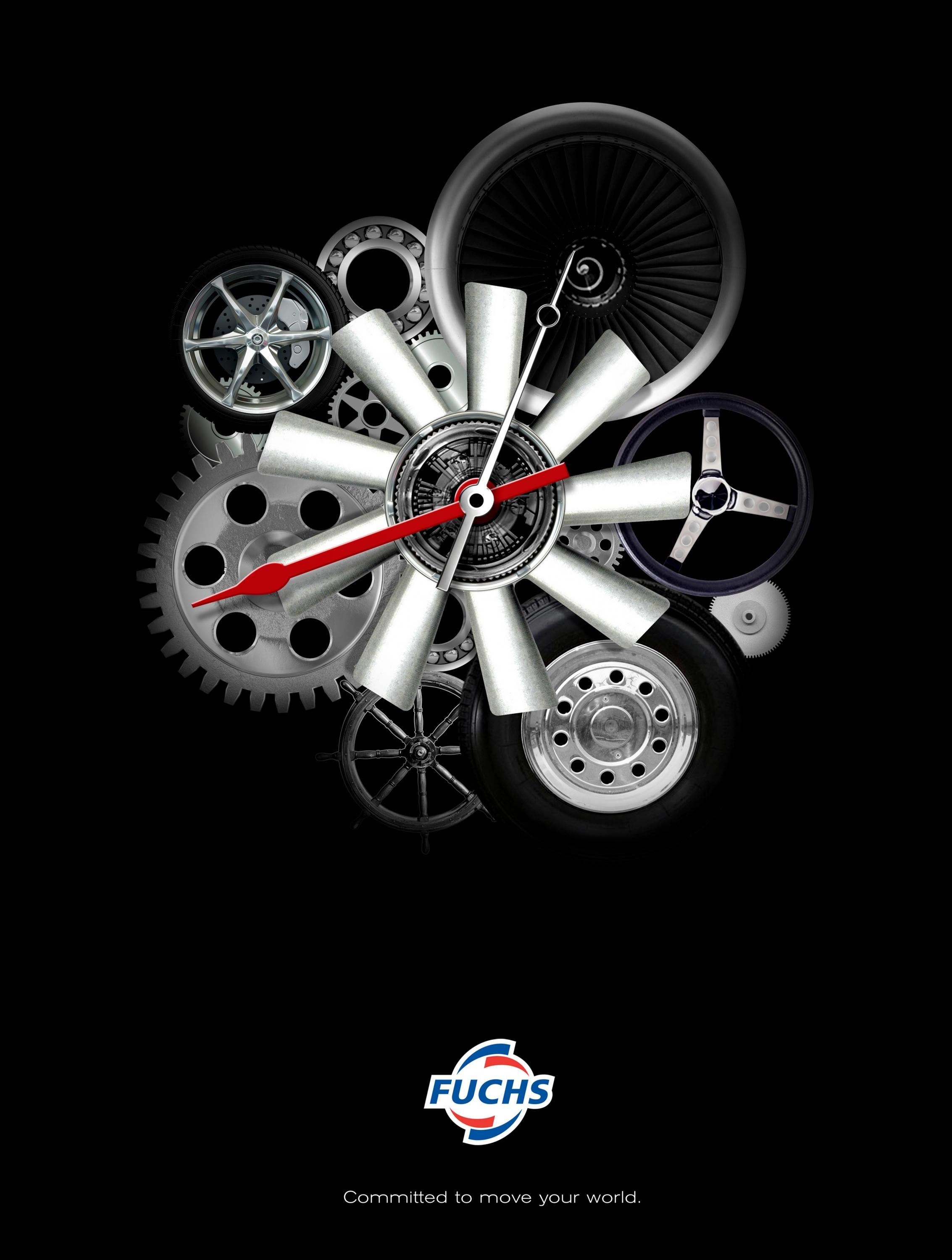 Adeevee | Only selected creativity - Fuchs Oil Motor Oil: Clock
