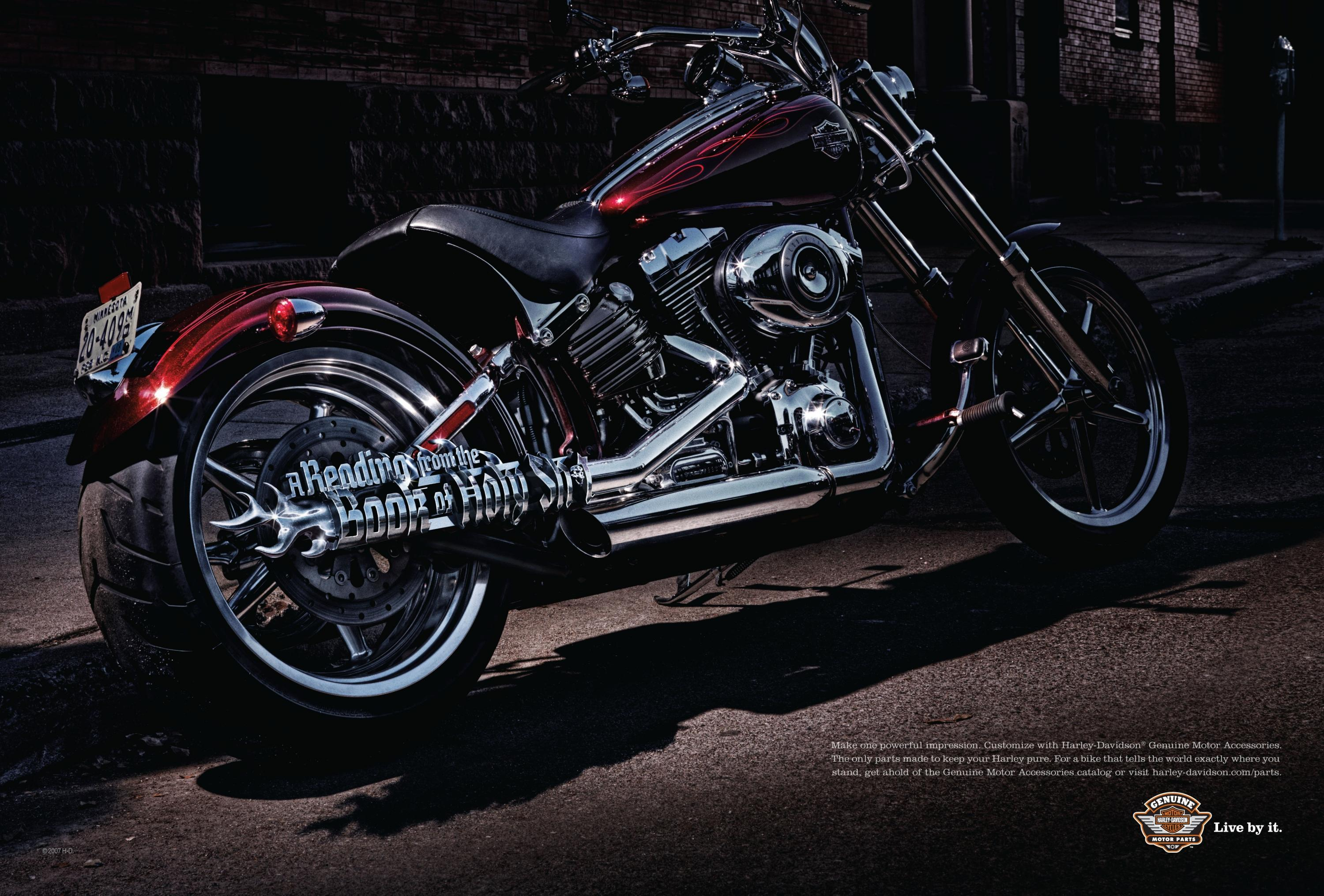 Adeevee | Only selected creativity - Harley-Davidson Parts