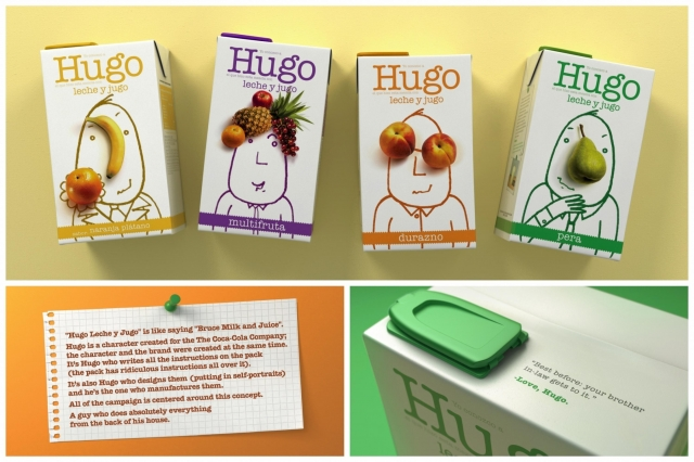 The Coca-Cola Company Hugo Milk And Juice Drink: Hugo 1