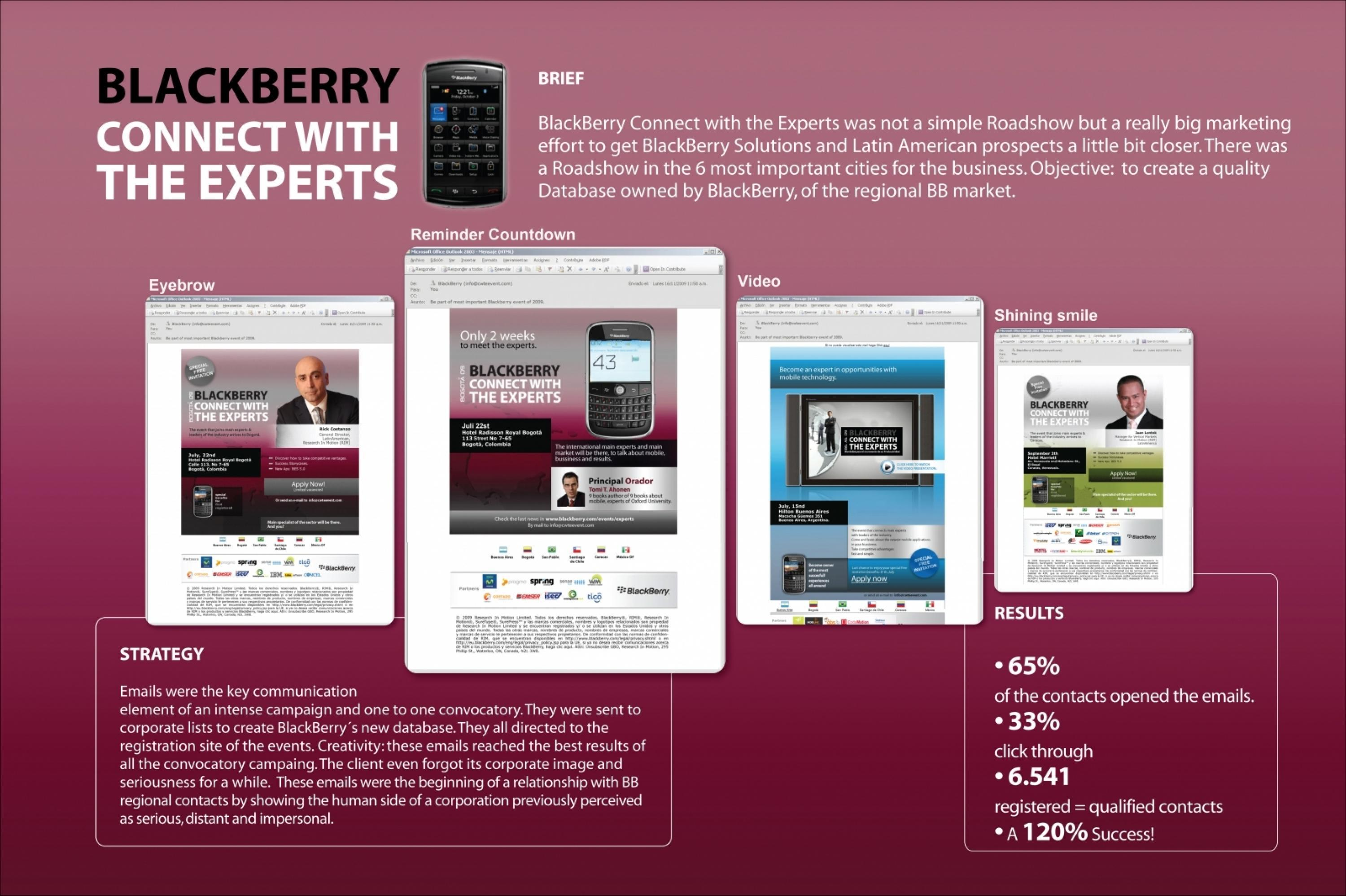Adeevee | Only selected creativity - Blackberry Connect With