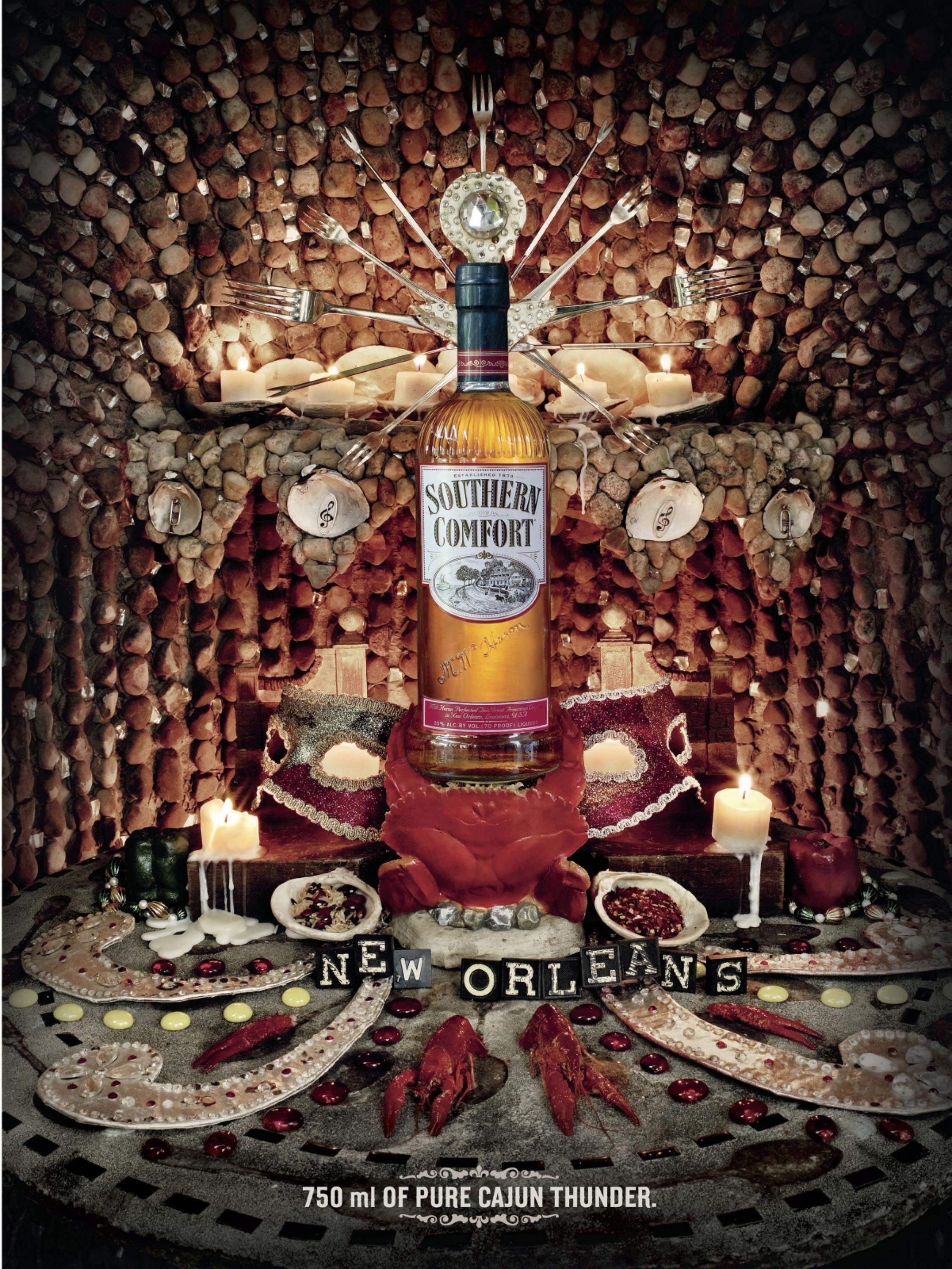 Adeevee Only Selected Creativity Brown Forman Southern Comfort New Orleans Pure Cajun Thunder Voodoo Y