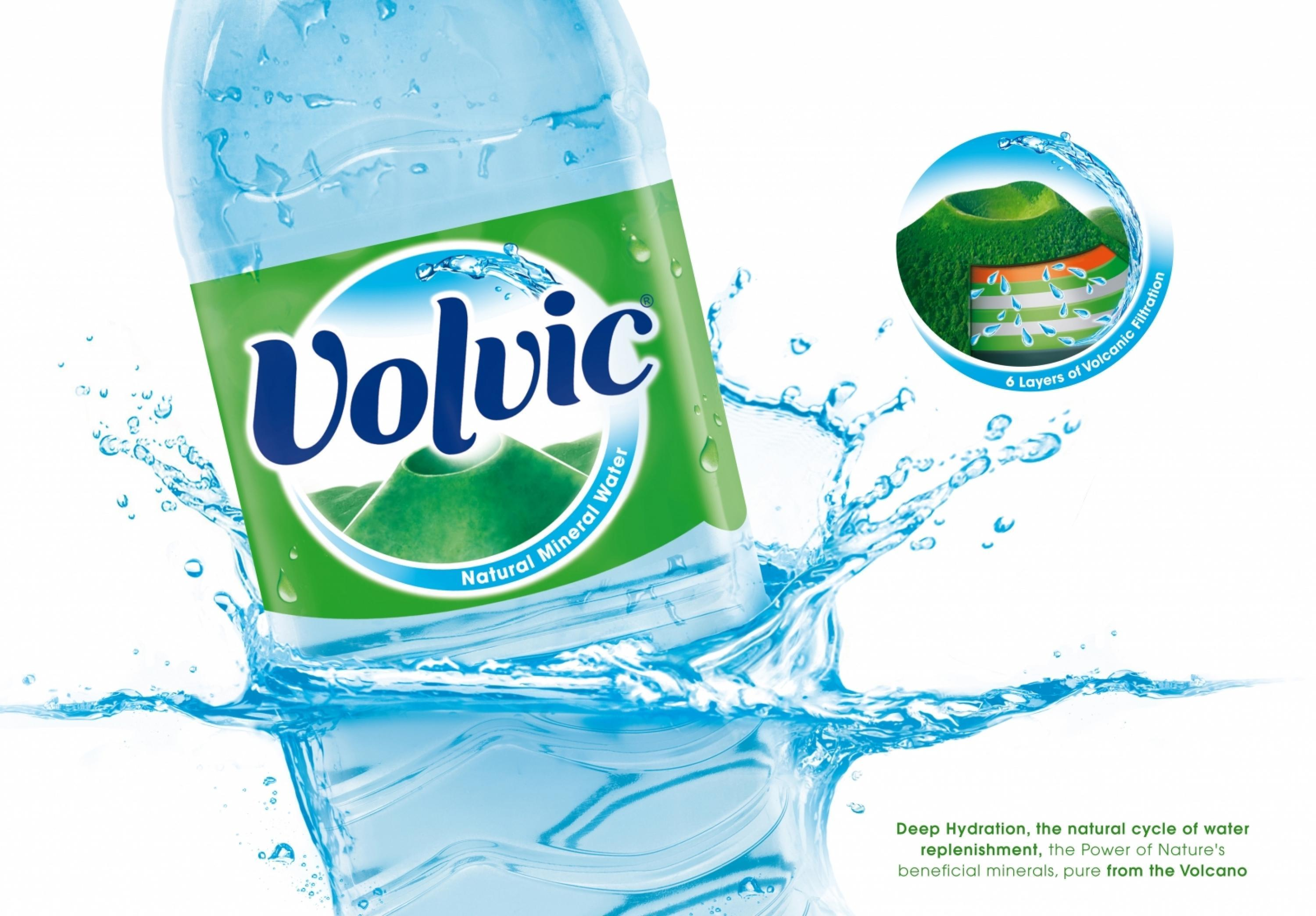 Adeevee | Only selected creativity - Danone Group Mineral Water And  Aquadrinks: Volvic International New Worldwide Branding