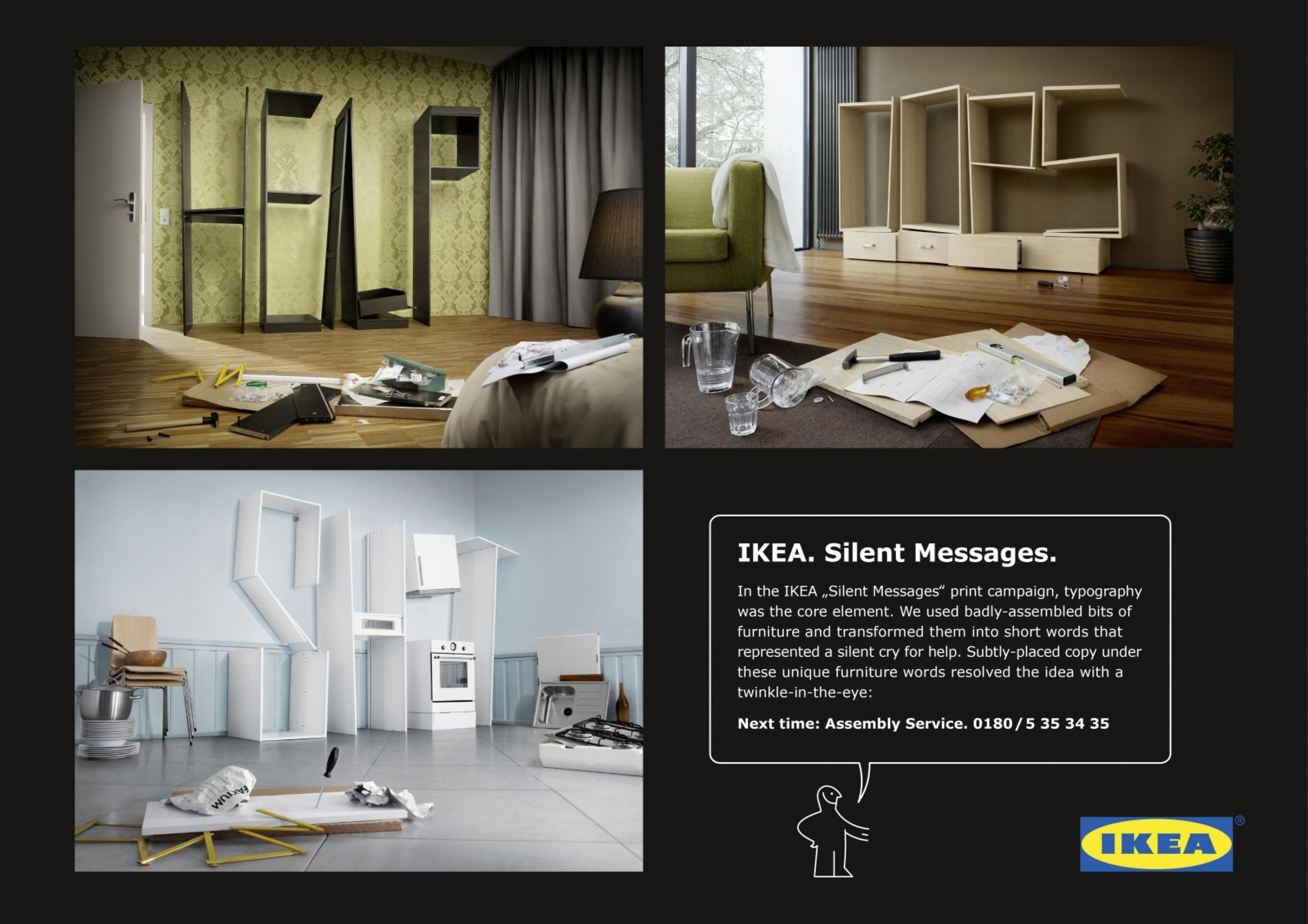 Adeevee | Only selected creativity - Ikea Assembly Service