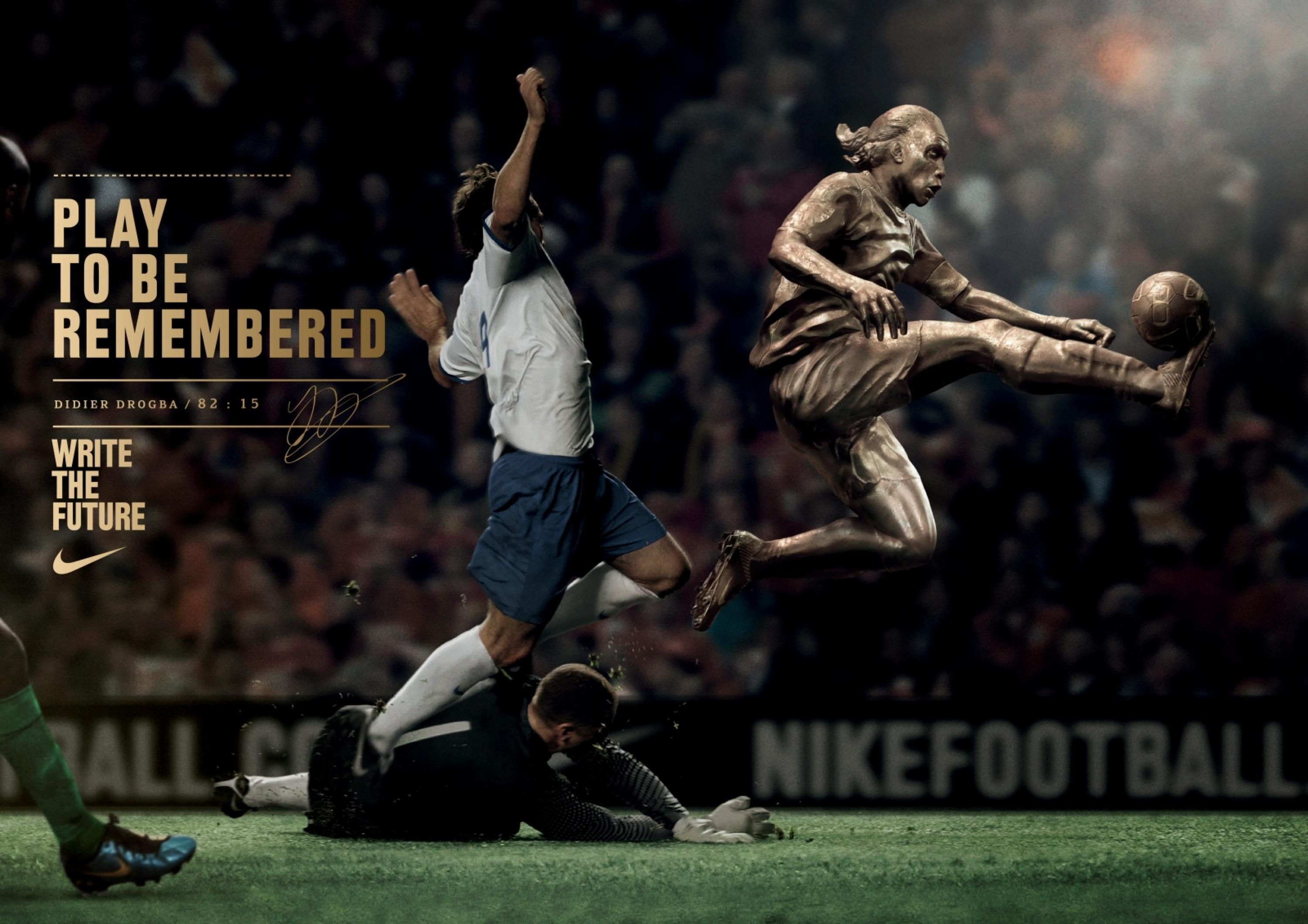 c0275ff7f11c27 Adeevee | Only selected creativity - Nike Football: Drogba, Rooney ...