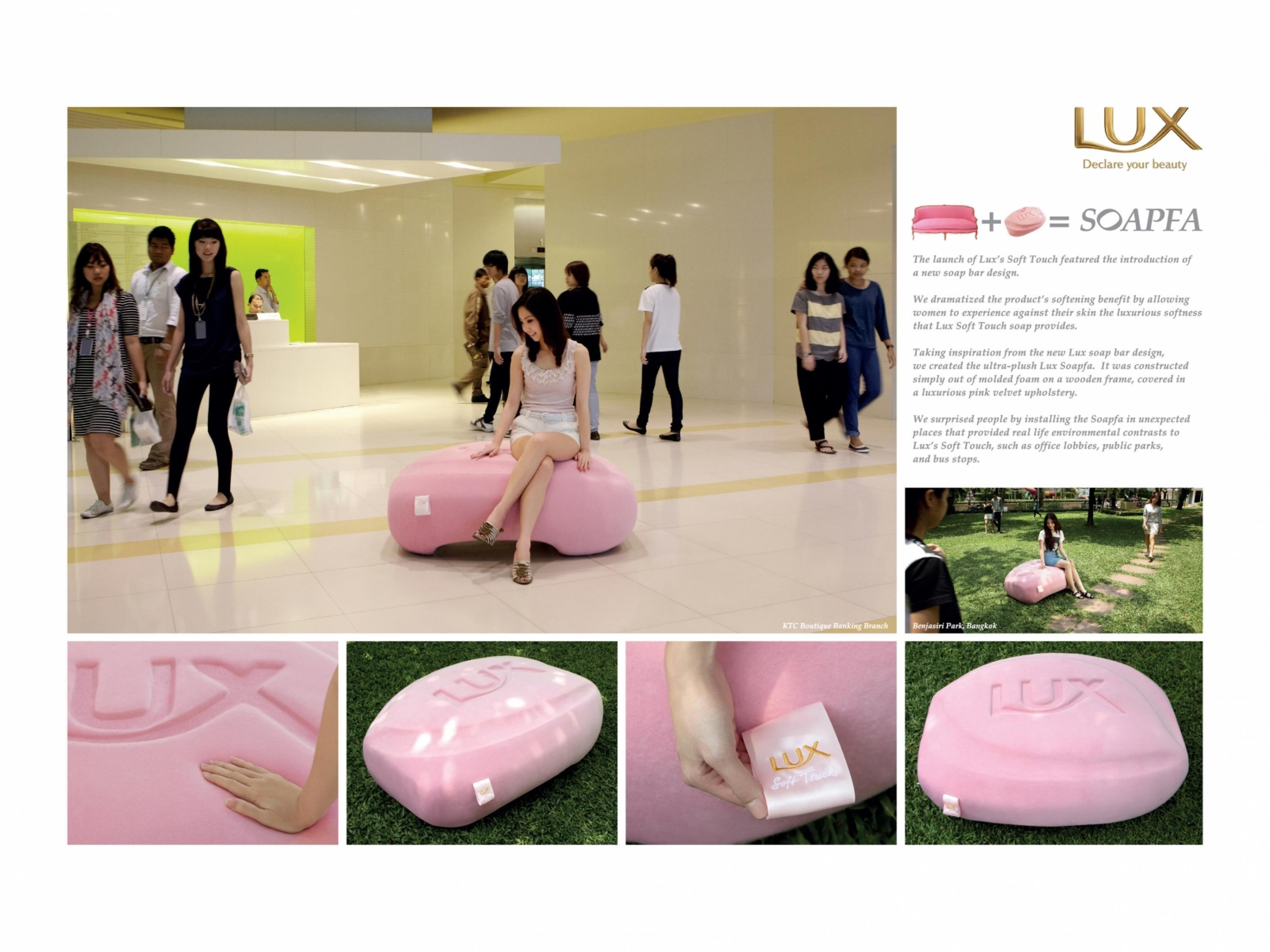 Adeevee | Only selected creativity - Unilever Thai Trading Lux Soap
