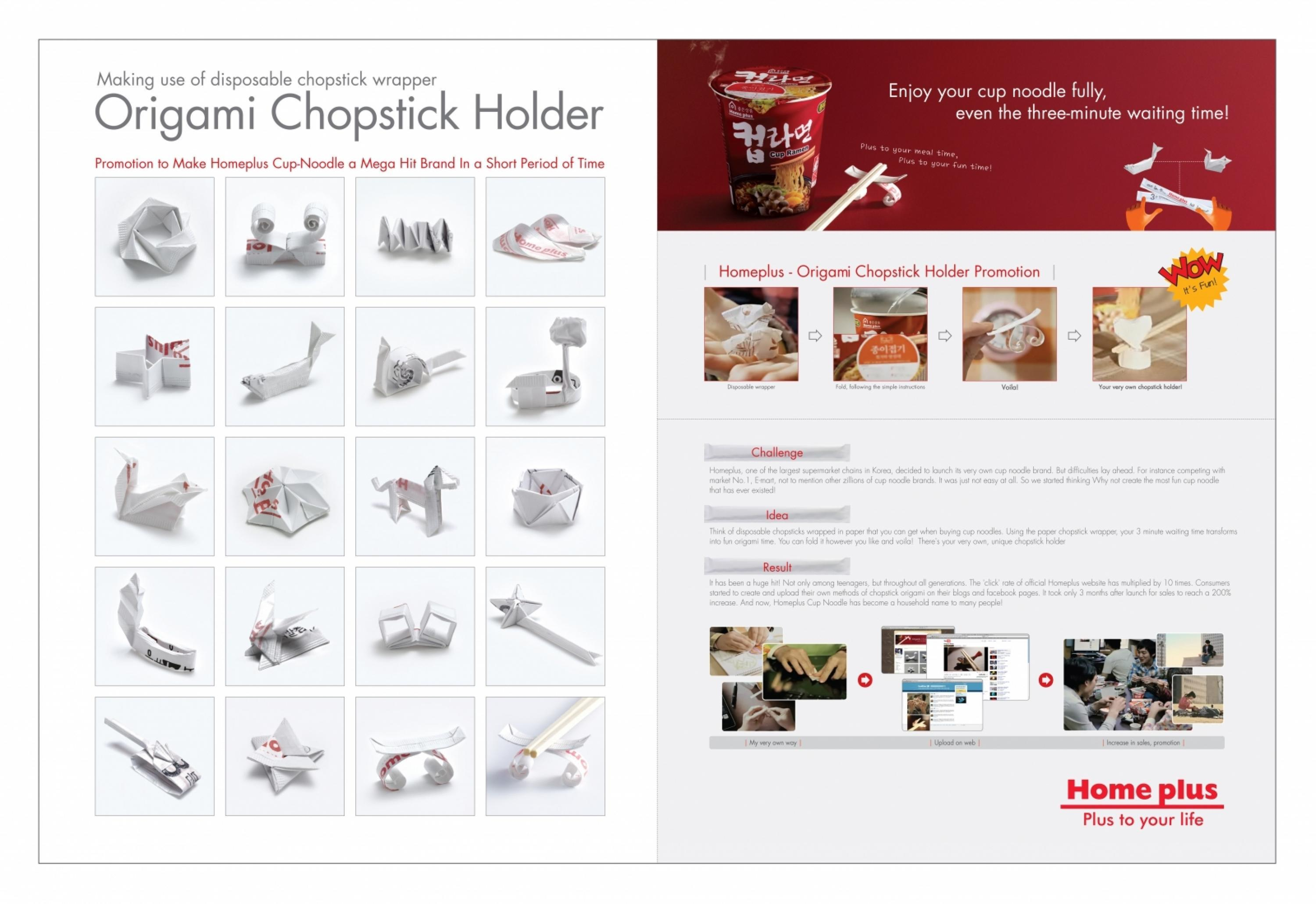 Origami Chopstick Holder: Boat Instructions in 13 Easy Steps ...   2060x3000