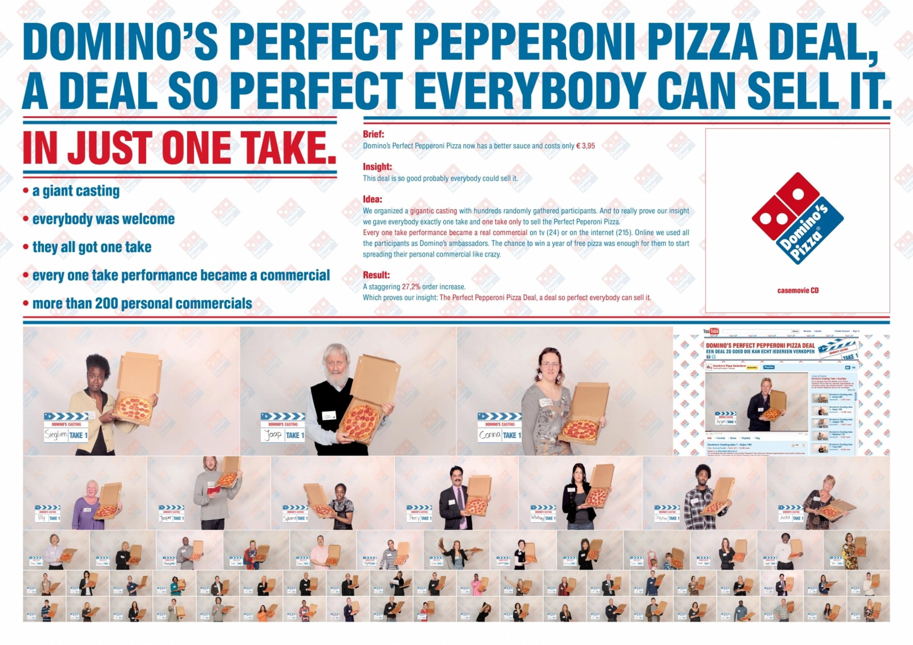 Adeevee Only Selected Creativity Dominos Pizza