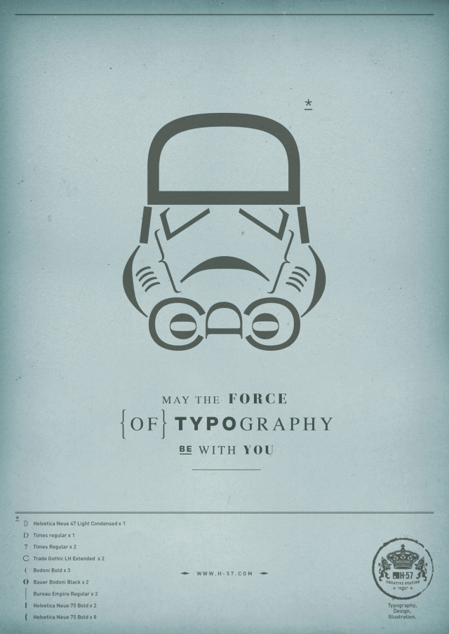 H-57 Creative Station: The Force of Typography 1