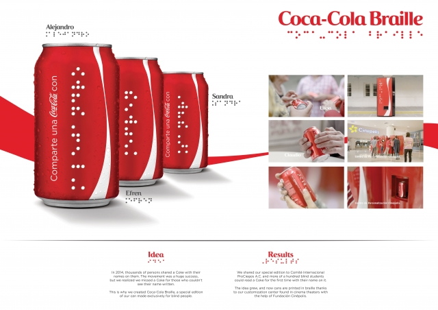 Coca-Cola : Coca-Cola Braille 1